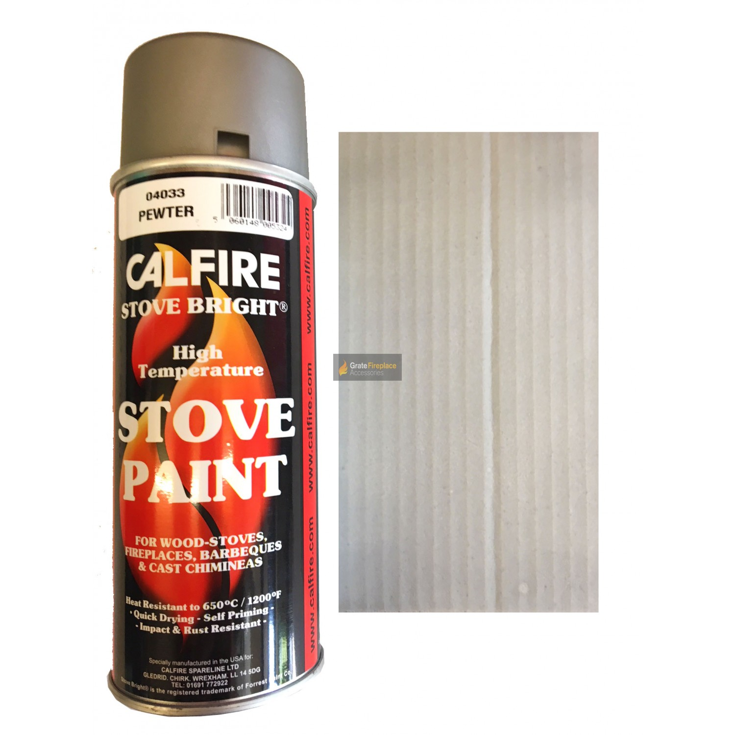 Stovebright High Temperature Paint