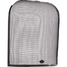 21'' Domed Guard Fire Screen - Black