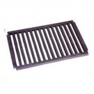 Large Dog Fire Grate Flat - Cast Iron