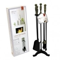 26'' Turn Handle Companion Set - Black/Pewter