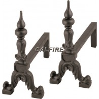 16'' Pinnacle Cast Iron Fire Dogs