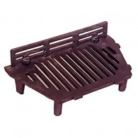 16 Inch A.L Stool Fire Grate 4 Legs (Inc Up Stand) - Cast Iron