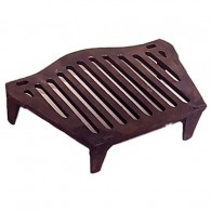 16 Inch Joyce Stool Fire Grate 4 Legs - Cast Iron