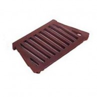16 Inch Queenette Fire Grate Flat - Cast Iron