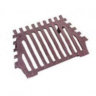 16 Inch Queen Star Fire Grate 2 Legs - Cast Iron