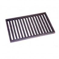 16 Inch Spanish / Valencia Dog Basket Fire Grate Flat - Cast Iron