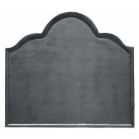 Plain Cast Iron Fire Back 29.75'' wide - Cast Iron