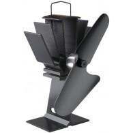 Caframo Ecofan 800 - Wood-Stove Ecofan - Black