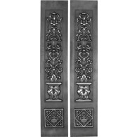 Rx080 Cast Iron Fireplace Sleeves (2 Sleeves)