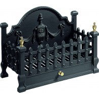 Castle Fire Basket - Cast Iron