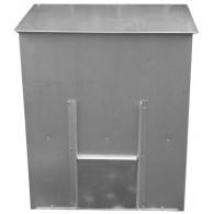 Coal Bunker - Galvanised Steel (250kg)