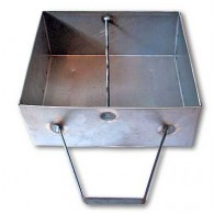 16 to 18 Inch Baxi Burnall Outside Ash Pan (Old Pattern) - Steel