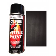 Stovebright High Temperature Paint - 1990 (400ml Aerosol) - Satin Black