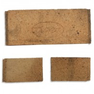 Tiger Inset Back Brick (comes in 3 pieces)