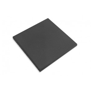 Black Quarry Fireplace Hearth Tiles (146mm x 146mm)