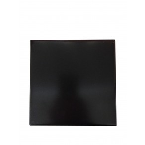 Basalt Ebony Black Hearth Tiles (Straight Edges)