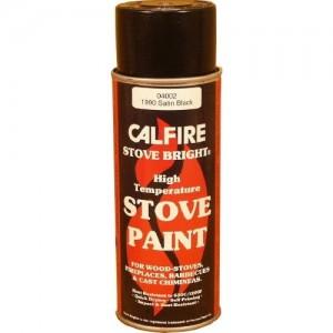 Stovebright Medium Temperature Paint - 53A000 (400ml Aerosol) - Clear