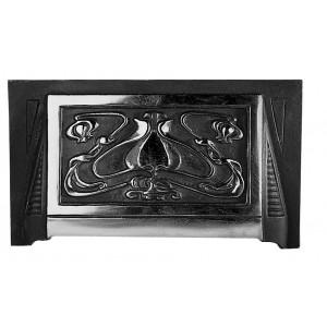 """16"""" Art Nouveau Smoke Hood - Matt Black"""