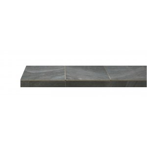 Charcoal Slate Fireplace Hearth Tile (320mm x 320mm)