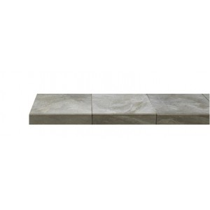 Olive Slate Fireplace Hearth Tile (304mm x 304mm)