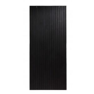 Cast Iron Reeded Panel - Black