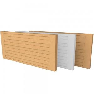 Accumulation Fireboard Stripe - White 500mm x 220mm