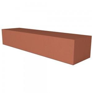 Vitcas Fire Brick Straight  - Red (220mm x 50mm x 40mm)