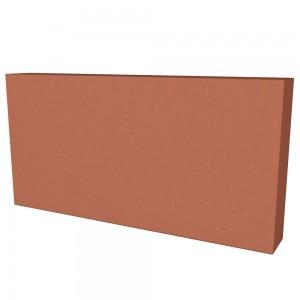 Vitcas Fire Bricks Flat - Red (220mm x 110mm x 30mm)