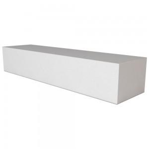 Vitcas Fire Brick Straight  - White (220mm x 50mm x 40mm)
