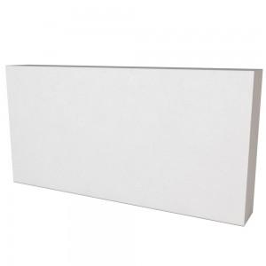 Vitcas Fire Bricks Flat - White (220mm x 110mm x 30mm)