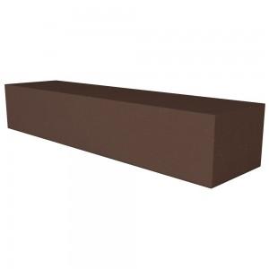 Vitcas Fire Brick Straight  - Brown (220mm x 50mm x 40mm)