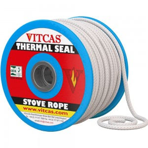 Stove Rope - Black or White - 6mm to 25mm