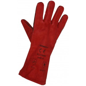 Heat Resistant Gloves - Red