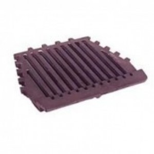 18 Inch Dunsley Firefly Fire Grate Flat - Cast Iron