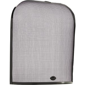 23.5'' Domed Guard Fire Screen - Black