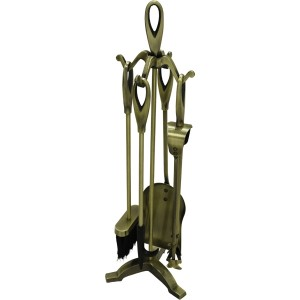 25'' Loop Top Companion Set - Antique Plated