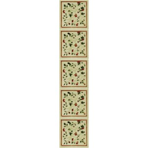 HEB231 / LGC094 Fireplace Tiles - Tube Lined (Set of 10)