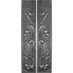 HEB319 Cast Iron Fireplace Sleeves (2 Sleeves)
