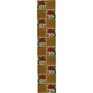 LGC029 Tube Lined Fireplace Tiles (Set of 10)