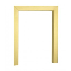 16'' Fire Trim 2'' Face 2'' Return - Brass