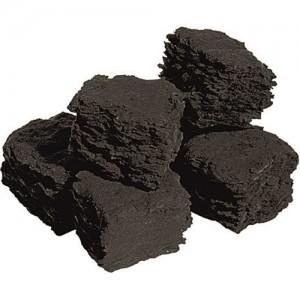 Ceramic Gas Fire Coals - Medium Size (Bag of 10)