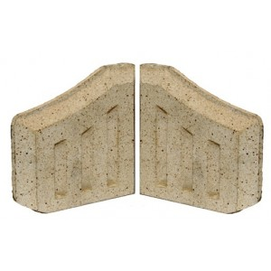 Coal saver Side Bricks (Pair of)