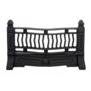 18'' Edwardian Cast Iron Fire Front - Highlighted