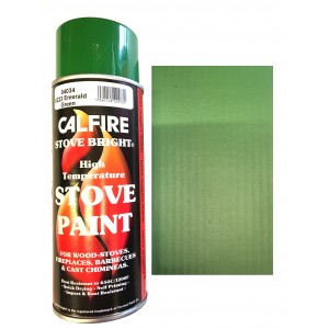Stovebright High Temperature Paint - 6223 (400ml Aerosol) - Emerald Green