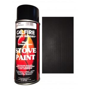 Stovebright High Temperature Paint - 6304 (400ml Aerosol) - Flat Black
