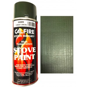 Stovebright High Temperature Paint - 6198 (400ml Aerosol) - Forest Green
