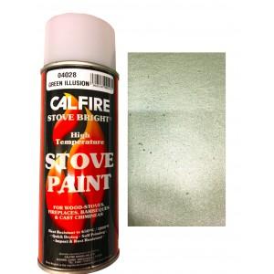 Stovebright High Temperature Paint - 6327 (400ml Aerosol) - Green Illusion