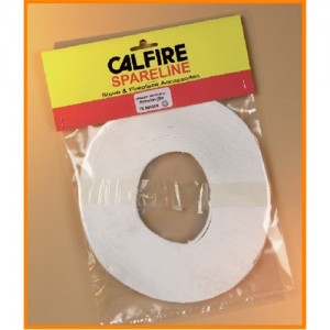Insulation Tape Pack 40mm x 2mm x 25M - White