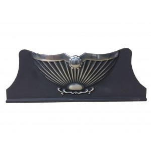 Large Victorian Ashpan Cover - Polished