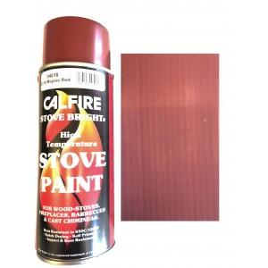Stovebright High Temperature Paint - 6319 (400ml Aerosol) - Mojave Red